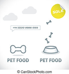 Pet Shop Icons - Vector Glossy Pet Shop Icons