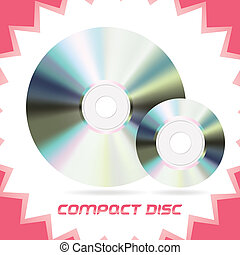 Compact Discs - Two Vector Isolated Compact Discs