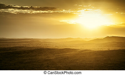 sunset in Australia - An image of a beautiful sunset in...