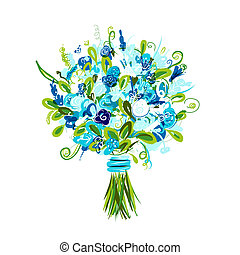 Floral bouquet for your design