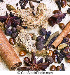 spices for mulled wine - different spices for mulled wine...