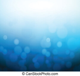 blue bokeh abstract light background. illustration design