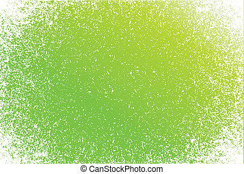 green Grunge pattern frame background