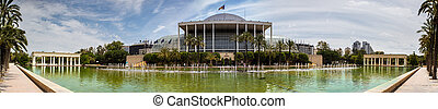 Valencia, the palace of music - Valencia, Palace of Music,...