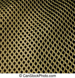 Metallic Black Holes Texture - Metallic texture with black...