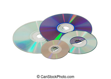Diversity Software - Different media disks of different...