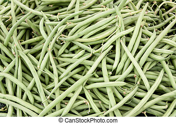 String beans - An abundance of string green beans