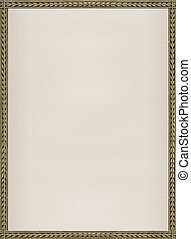 Background with decorative borders
