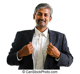 Asian Indian business man - Good looking mature Asian Indian...