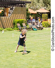 Bocce is a ball sport belonging to the boules sport family