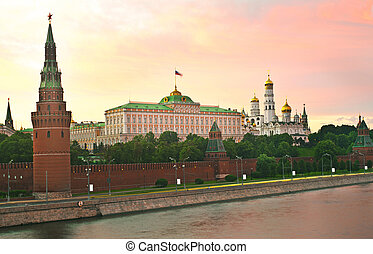 presidential palace. - Russia, Moscow, kremlin