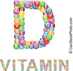 Vitamin D Concept Vector