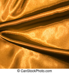 Golden satin texture. Vector