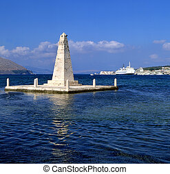 Obelisk - The obelisk monument to the British rule of...