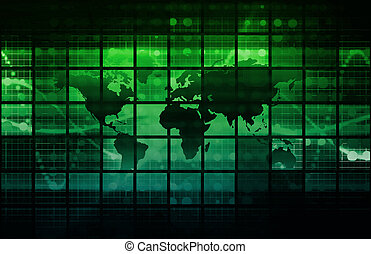 Data Network with Fast Moving Data Packets