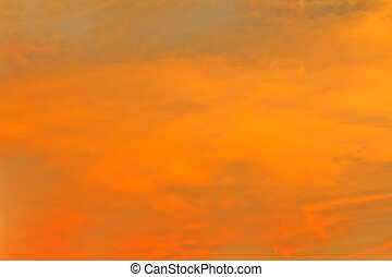 Sunset sky and clouds Nature  backgrounds