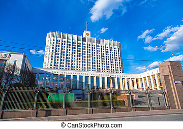 Russian White House - House of government of Russian...