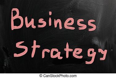 """""""business, tableau noir, craie, blanc,  strategy"""", Manuscrit"""