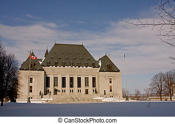 Supreme court of Canada - View of the Supreme Court of...