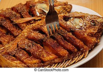 fritado, Tilapia, peixe
