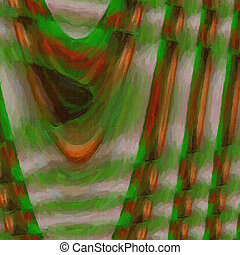 Abstract twisted background - Abstract digital colored...