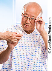 Senior asian healthcare - A shot of an elderly asian man...