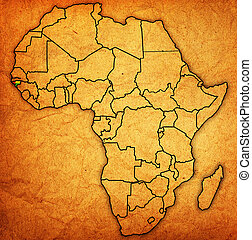 guinea bissau on actual map of africa - guinea bissau on...