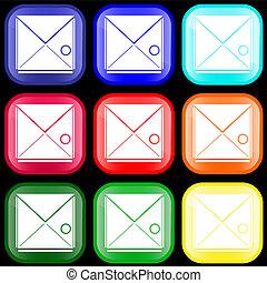 Icon of envelope
