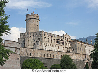 fabulous Castle in the city centre of Trento in Italy