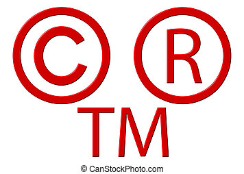 Copyright Registered And Trademark Symbols - Copyright...