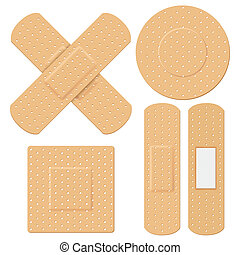 Medical Bandage - illustration of medical bandage in...