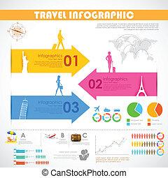 Travel Infographic - illustration of Travel Infographic...