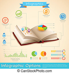 Education Infographic - illustration of education...