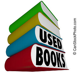 Used Books Stack Pile Selling Buying Old Textbooks Novels -...