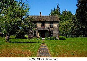 Abandoned House - Abandoned home from the early 1900s left...