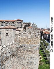 Cathedral of San Salvador in Avila - Cathedral of San...