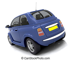 Car - 3D render of a car