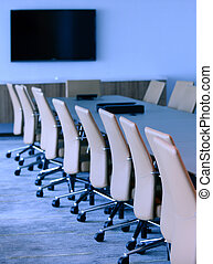 executive boardroom in an office building - executive...