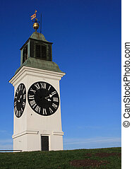 novi sad - Clock tower in Vojvodina Serbia