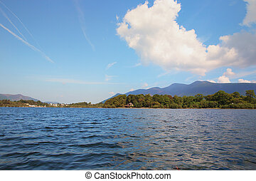 Derwent Water, Keswick and Skiddaw - Derwent Waterand,...