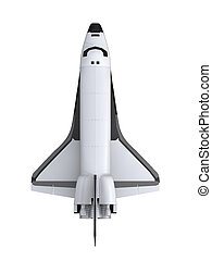 Space Shuttle Isolated - Space Shuttle isolated on white...