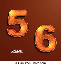 wood texture numbers 5 6