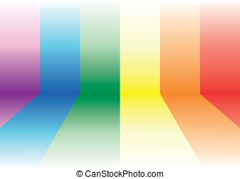 Gay flag background - Gay background Decorative element with...
