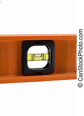 spirit level isolated on