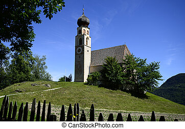 Italy, South Tyrol, church St Constantin