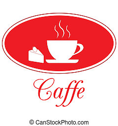 Caffee design, vector - Caffee icon on a white background....