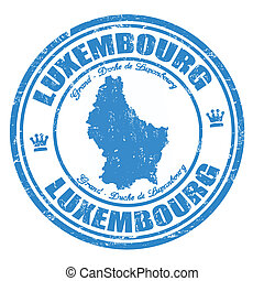 Luxembourg stamp