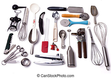 Kitchen Tool Collection - A collection of kitchen tools and...
