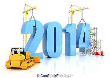 Year 2014 growth - building, improvement in business or in...