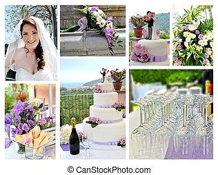 romántico, boda